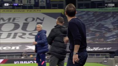 Mourinho and Lampard clash on touchline