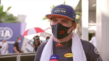 Verstappen pleased with second