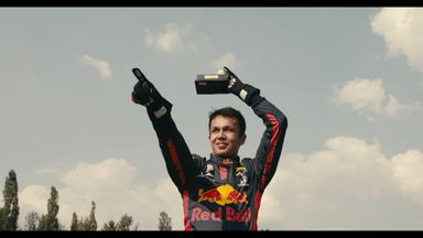 Albon's first podium - relived!