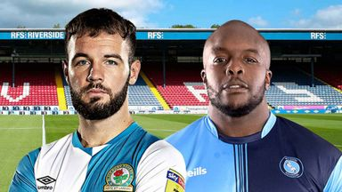 EFL Hlts: Blackburn v Wycombe