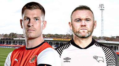 EFL Hlts: Luton v Derby