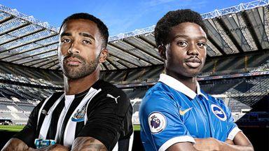 PL: Newcastle v Brighton Hlts