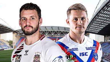 SL Hlts: Wigan v Wakefield