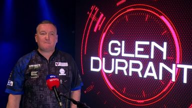 Durrant: Players don't want to beat me!