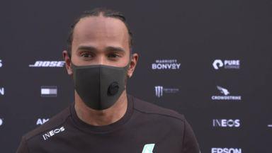 Hamilton: I didn't feel quick today