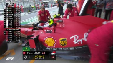 Leclerc out in Q2
