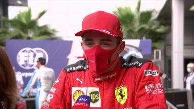 Leclerc: Vettel incident 'scary'
