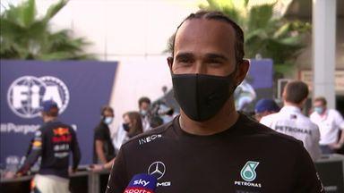 Hamilton: Today was stressful
