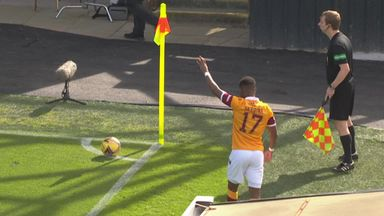 Motherwell pull one back