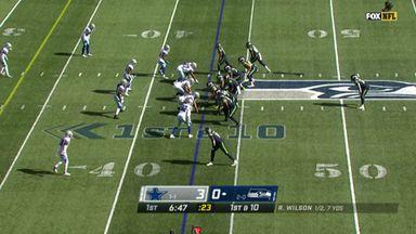 Lockett wide open for 43-yard TD