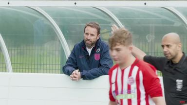 Southgate supports FA's 'Pledge of Positivity'