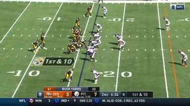 Big Ben's 84-yard bomb to Claypool