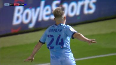 Godden equalises for Coventry