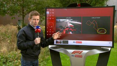 SkyPad: Russian GP track analysis