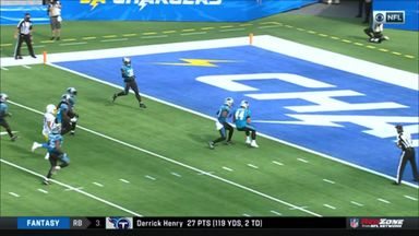 Panthers' attempts to stop touchback