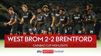 West Brom 2-2 Brentford (4-5 on pens)