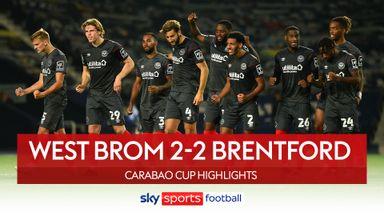 West Brom 2-2 Brentford (4-5 on pens)