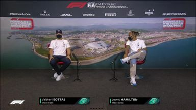 Mercedes: Russian GP press conference