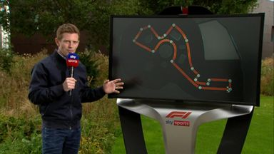 SkyPad: Sochi track analysed