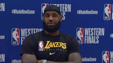 LeBron annoyed with MVP vote