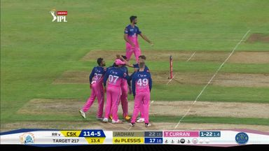 IPL: Rajasthan vs CSK highlights