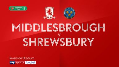Middlesbrough 4-3 Shrewsbury
