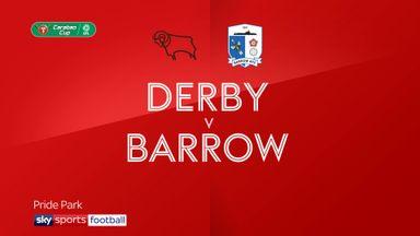 Derby 0-0 Barrow (3-2 pens)
