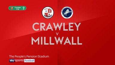 Crawley 1-3 Millwall