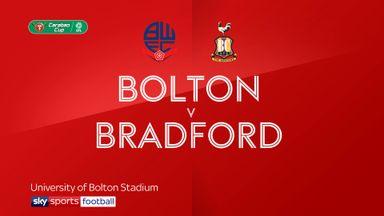 Bolton 1-2 Bradford