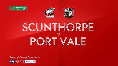 Scunthorpe 1-2 Port Vale