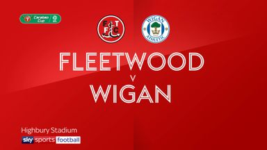 Fleetwood 3-2 Wigan