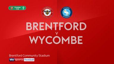 Brentford 1-1 Wycombe (4-2 pens)