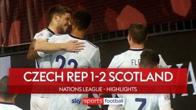Czech Rep 1-2 Scotland