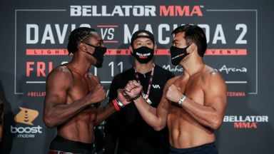 Davis, Machida face-off