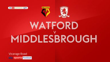 Watford 1-0 Middlesbrough