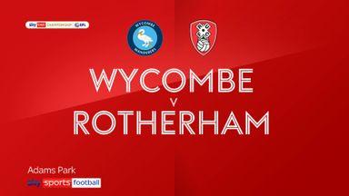 Wycombe 0-1 Rotherham