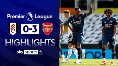 Gabriel, Willian star as Arsenal beat Fulham