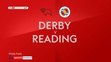 Derby 0-2 Reading