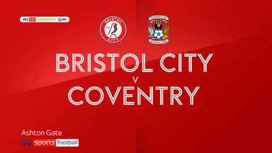 Bristol City 2-1 Coventry
