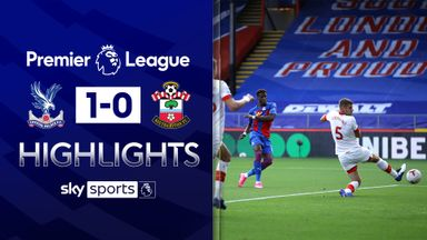 Zaha gives Palace win over Southampton