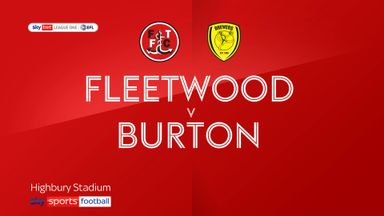 Fleetwood 2-1 Burton