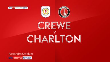 Crewe 0-2 Charlton