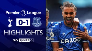Calvert-Lewin header sinks Spurs