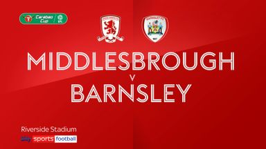 Middlesbrough 0-2 Barnsley