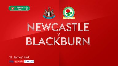 Newcastle 1-0 Blackburn