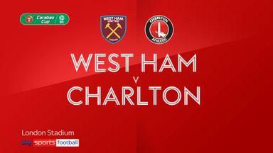 West Ham 3-0 Charlton