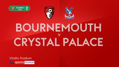 Bournemouth 0-0 Crystal Palace (11-10 pens)