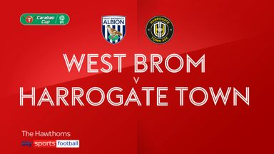 West Brom 3-0 Harrogate