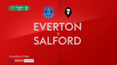 Everton 3-0 Salford