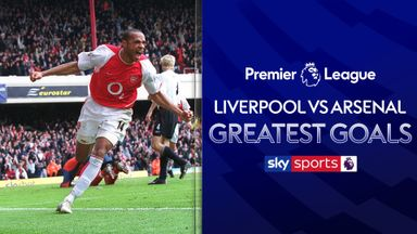 Liverpool vs Arsenal: Greatest PL Goals